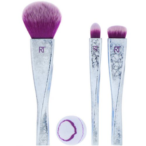 Real Techniques by Samantha Chapman, Limited Edition, Brush Crush Volume 2, Ruler of the Skies Set, 4 Pieces فوائد