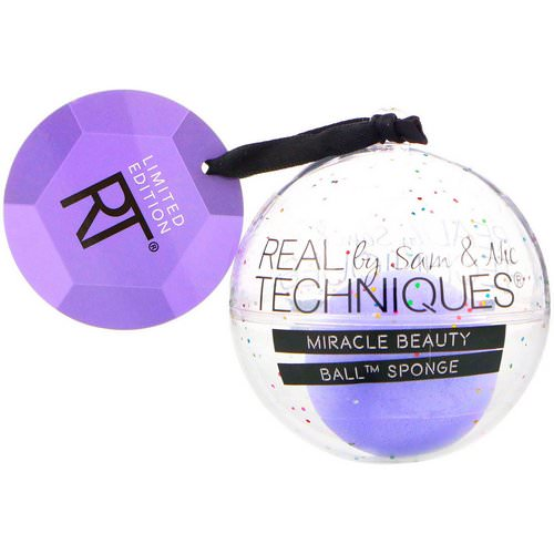 Real Techniques by Samantha Chapman, Limited Edition, Miracle Beauty, Ball Sponge, 1 Ball Sponge فوائد