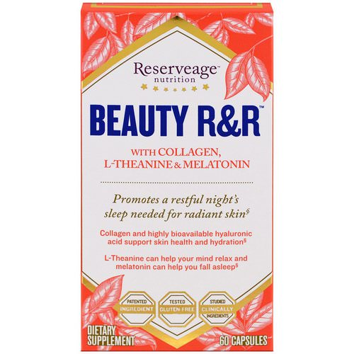 ReserveAge Nutrition, Beauty R&R, 60 Capsules فوائد