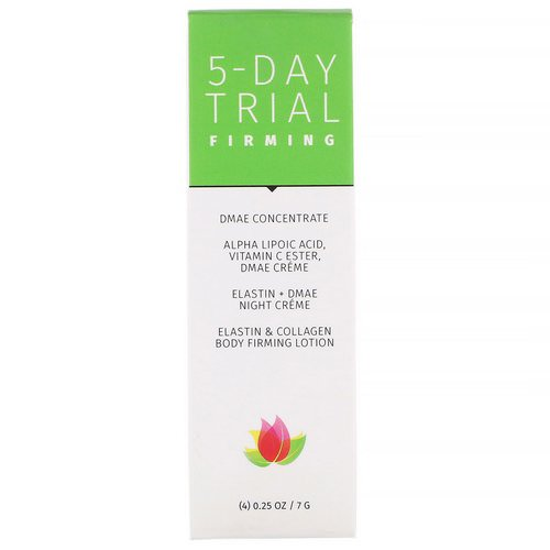 Reviva Labs, 5-Day Trial, Firming, 4 Piece Kit, 0.25 oz (7 g) Each فوائد