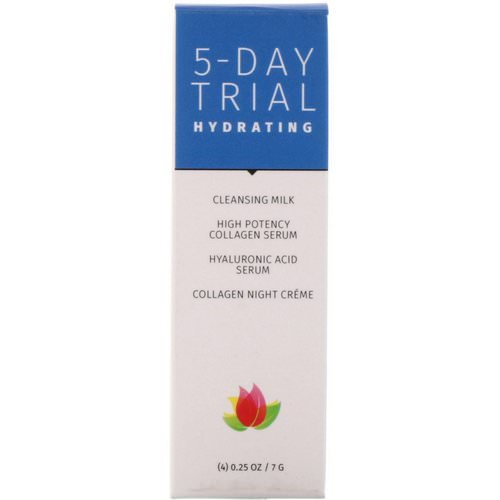 Reviva Labs, 5-Day Trial, Hydrating, 4 Piece Kit, 0.25 oz (7 g) Each فوائد