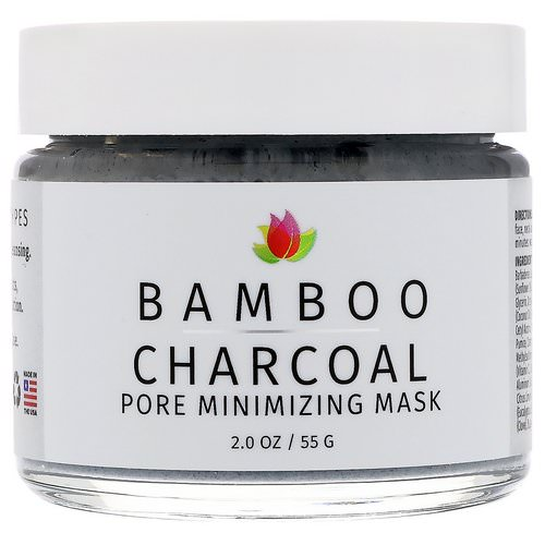 Reviva Labs, Bamboo Charcoal, Pore Minimizing Mask, 2 oz (55 g) فوائد
