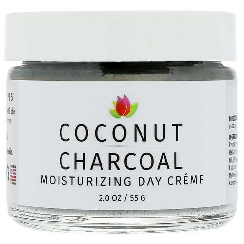 Reviva Labs, Coconut Charcoal Moisturizing Day Creme, 2 oz (55 g) فوائد