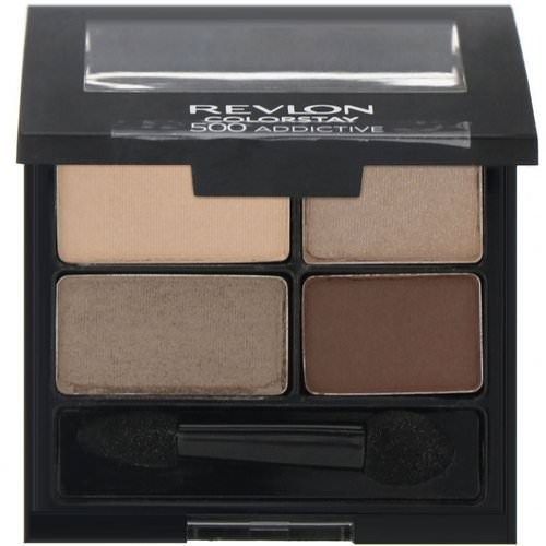 Revlon, Colorstay, 16-Hour Eye Shadow, 500 Addictive, .16 oz (4.8 g) فوائد
