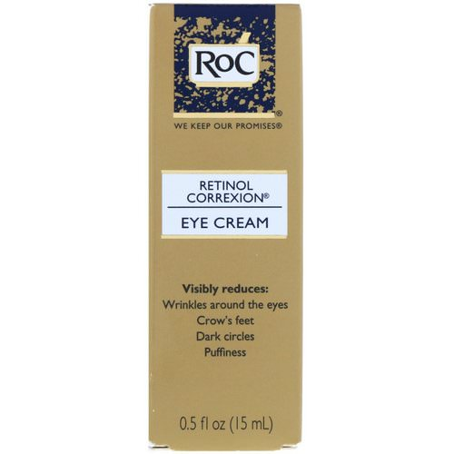 RoC, Retinol Correxion, Eye Cream, 0.5 fl oz (15 ml) فوائد