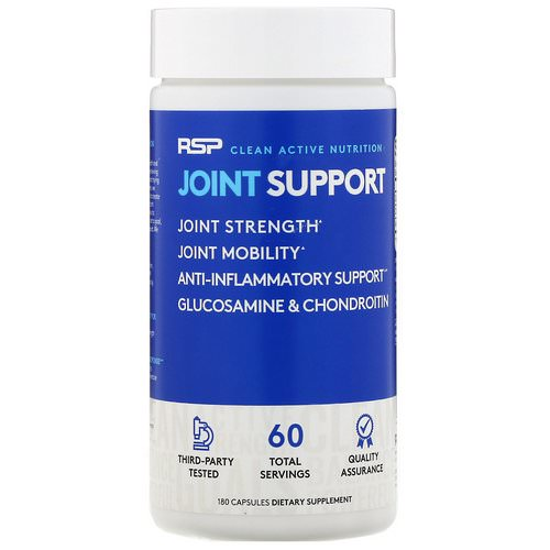 RSP Nutrition, Joint Support, 180 Capsules فوائد