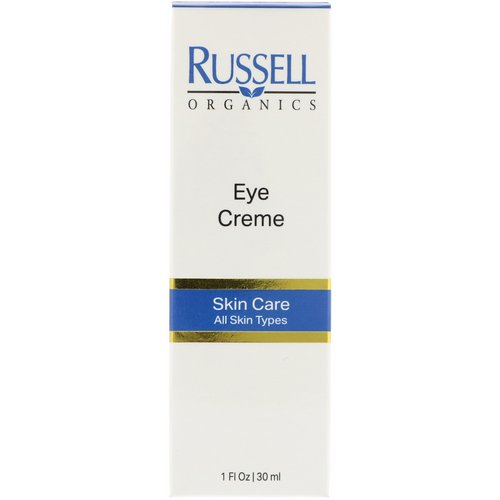 Russell Organics, Eye Cream, 1 fl oz (30 ml) فوائد