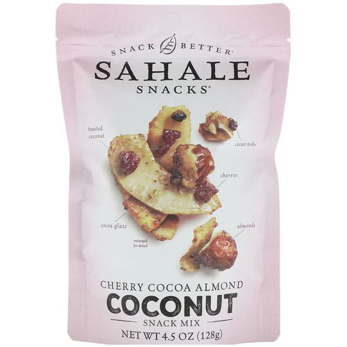 Sahale Snacks, Snack Mix, Cherry Cocoa Almond Coconut, 4.5 oz (128 g) فوائد