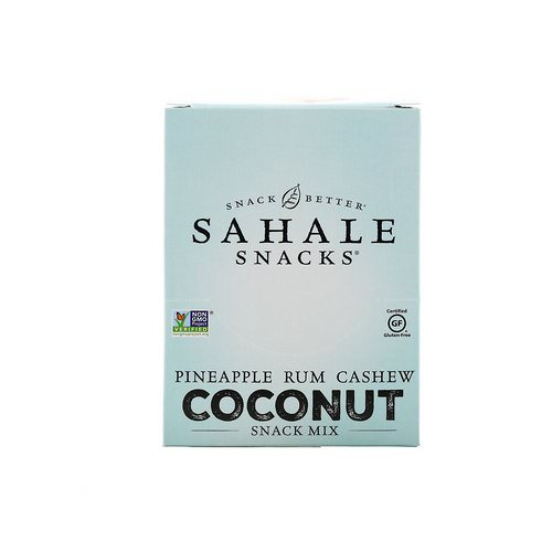 Sahale Snacks, Snack Mix, Pineapple Rum Cashew Coconut, 7 Packs, 1.5 oz (42.5 g) Each فوائد