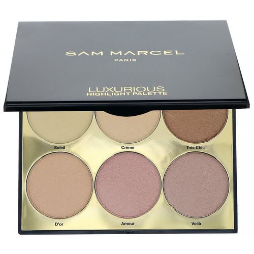 Sam Marcel, Luxurious Highlight Palette, 0.63 oz (18 g) فوائد