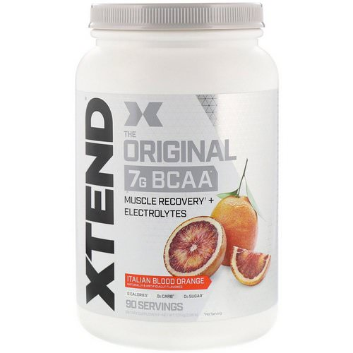 Scivation, Xtend, The Original 7G BCAA, Italian Blood Orange, 2.88 lb (1.31 kg) فوائد