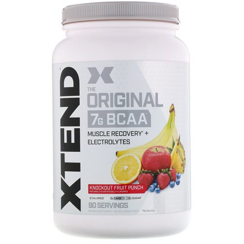 Scivation, Xtend, The Original 7G BCAA, Knockout Fruit Punch, 2.68 lb (1.22 kg) فوائد