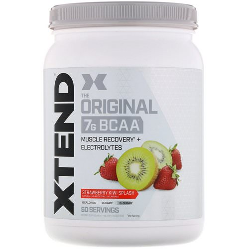 Scivation, Xtend, The Original, Strawberry Kiwi Splash, 1.5 lb (700 g) فوائد