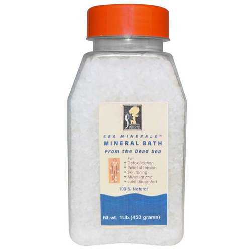 Sea Minerals, Mineral Bath from the Dead Sea, 1 lb (453 g) فوائد