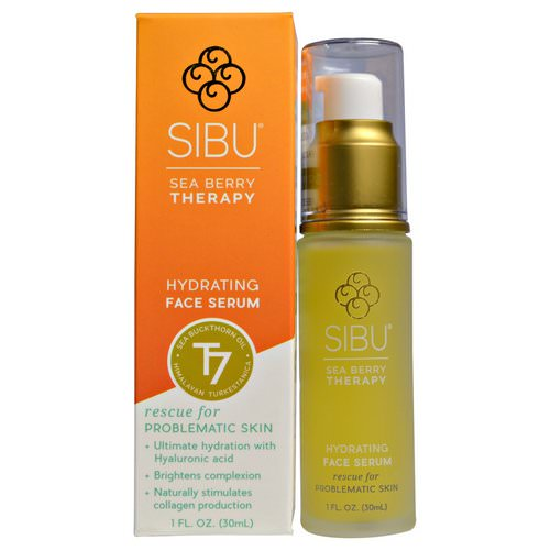 Sibu Beauty, Sea Buckthorn Oil Hydrating Serum, 1 fl oz (30 ml) فوائد