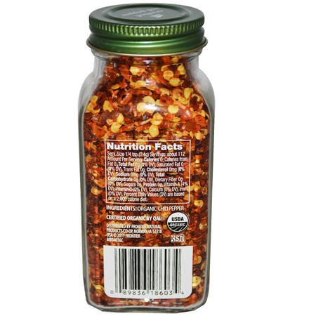 Simply Organic, Crushed Red Pepper, 1.59 oz (45 g):فلفل, بهارات