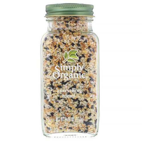 Simply Organic, Everything Blend, 4.00 oz (113 g) فوائد