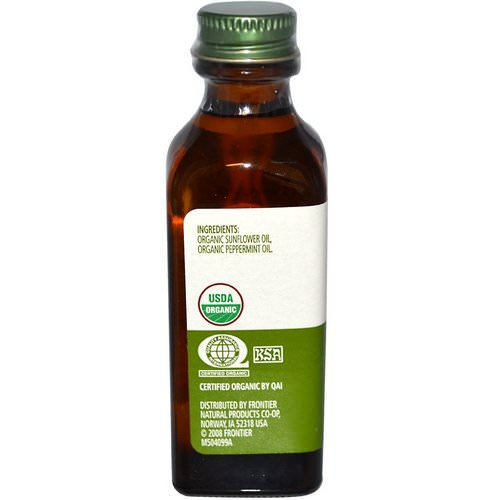 Simply Organic, Peppermint Flavor, 2 fl oz (59 ml) فوائد