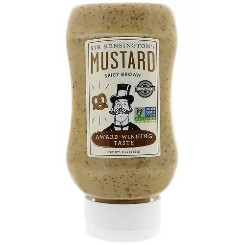 Sir Kensington's, Spicy Brown Mustard, 9 oz (255 g) فوائد