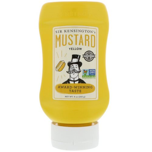 Sir Kensington's, Yellow Mustard, 9 oz (255 g) فوائد