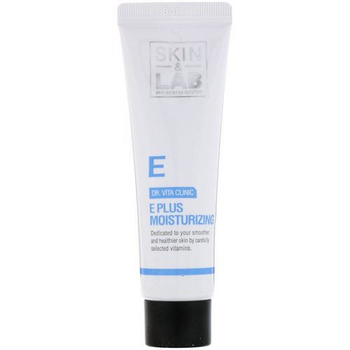 Skin&Lab, Dr. Vita Clinic, E Plus Moisturizing Cream, Vitamin E, 30 ml فوائد