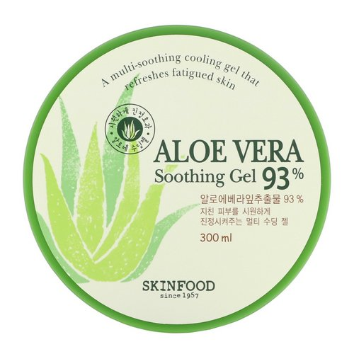 Skinfood, Aloe Vera Soothing Gel 93%, 300 ml فوائد