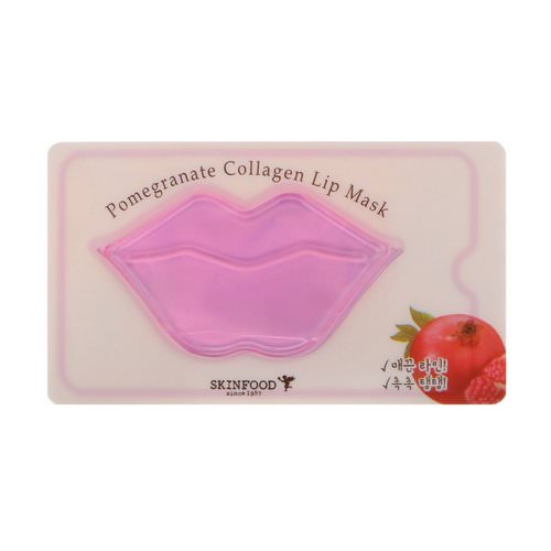 Skinfood, Pomegranate Collagen Lip Mask, 1 Mask فوائد