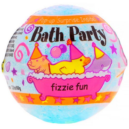 Smith & Vandiver, Bath Party Fizzie Fun, 2.2 oz (60 g) فوائد