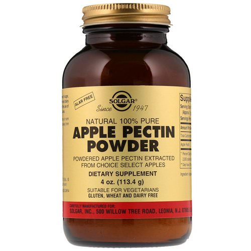 Solgar, Apple Pectin Powder, 4 oz (113.4 g) فوائد