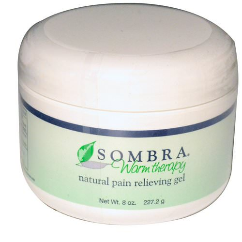 Sombra Professional Therapy, Warm Therapy, Natural Pain Relieving Gel, 8 oz (227.2 g) فوائد