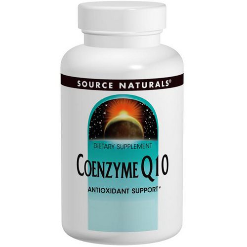 Source Naturals, Coenzyme Q10, 200 mg, 60 Softgels فوائد