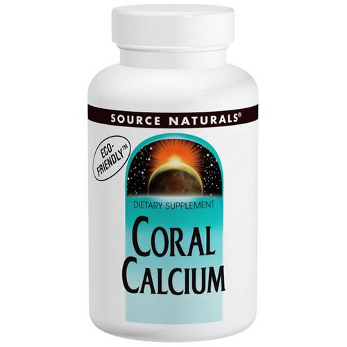 Source Naturals, Coral Calcium, 600 mg, 120 Capsules فوائد