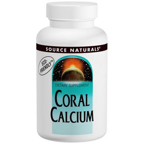 Source Naturals, Coral Calcium, 600 mg, 120 Tablets فوائد