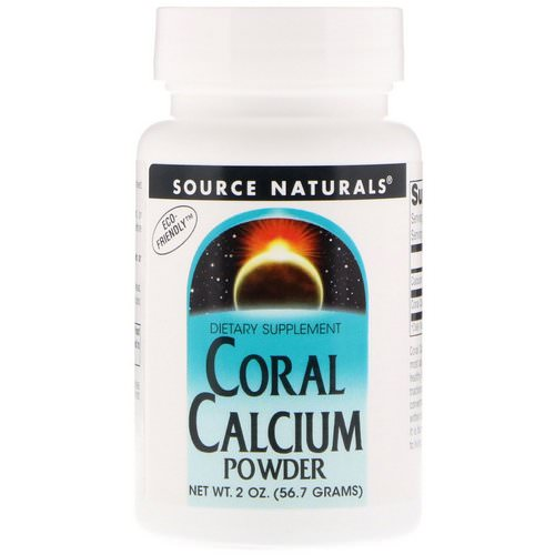 Source Naturals, Coral Calcium, Powder, 2 oz (56.7 g) فوائد