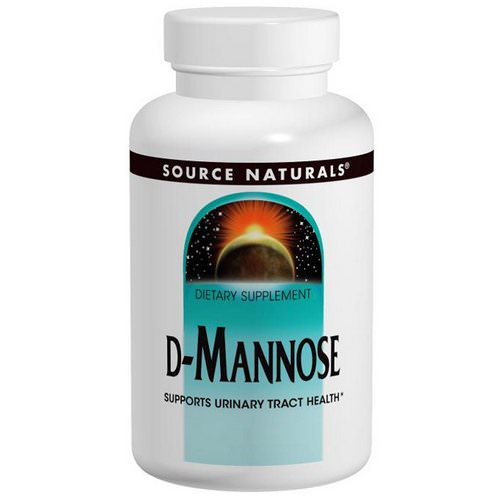 Source Naturals, D-Mannose, 500 mg, 120 Capsules فوائد