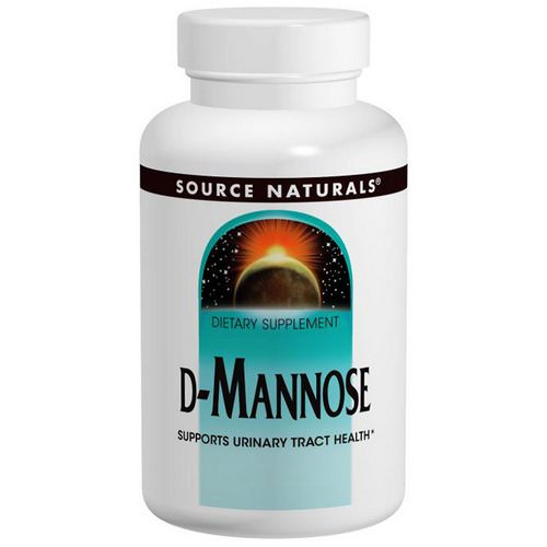 Source Naturals, D-Mannose, 500 mg, 60 Capsules فوائد