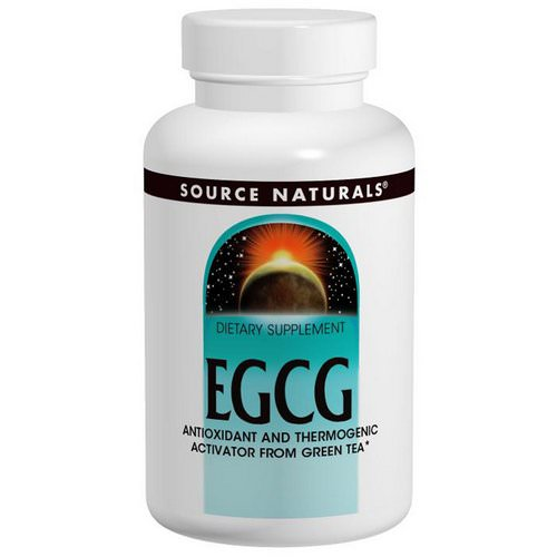Source Naturals, EGCG, 350 mg, 60 Tablets فوائد