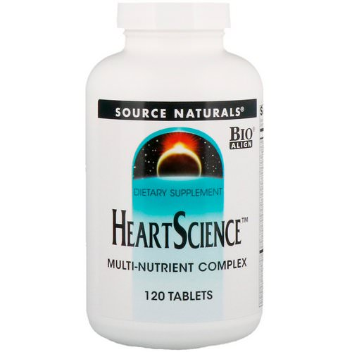 Source Naturals, Heart Science, Multi-Nutrient Complex, 120 Tablets فوائد