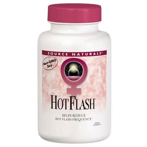 Source Naturals, Hot Flash, 180 Tablets فوائد