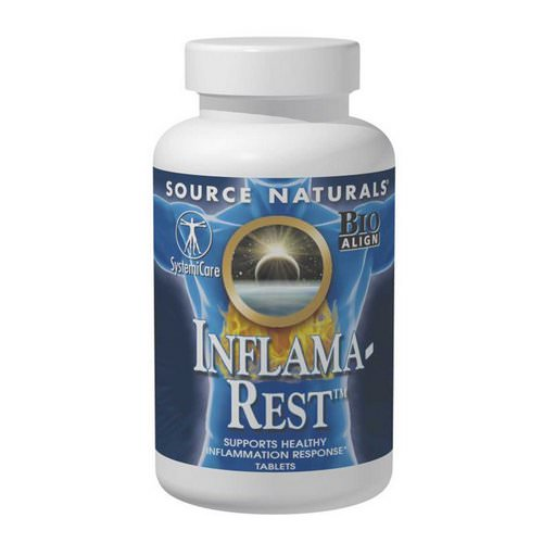 Source Naturals, Inflama-Rest, 60 Tablets فوائد