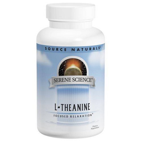 Source Naturals, L-Theanine, 200 mg, 60 Capsules فوائد