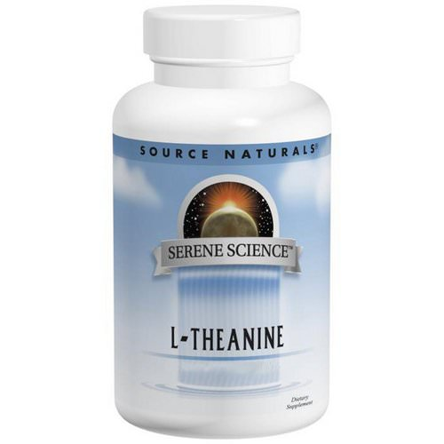 Source Naturals, L-Theanine, 200 mg, 60 Tablets فوائد