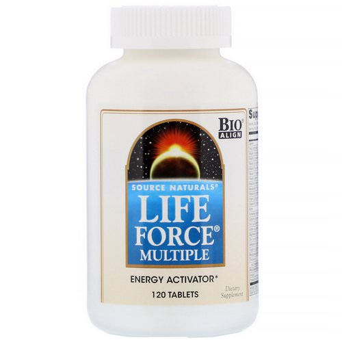 Source Naturals, Life Force Multiple, 120 Tablets فوائد