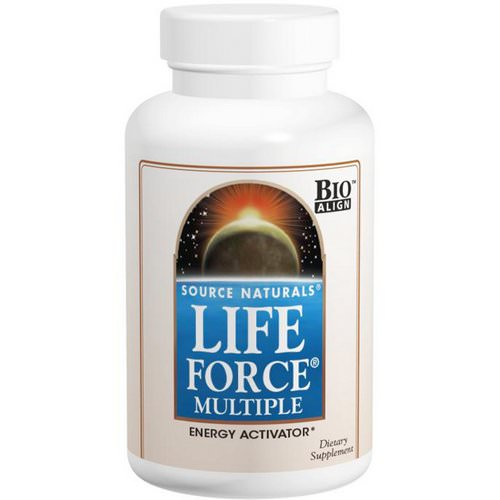 Source Naturals, Life Force Multiple, 180 Tablets فوائد