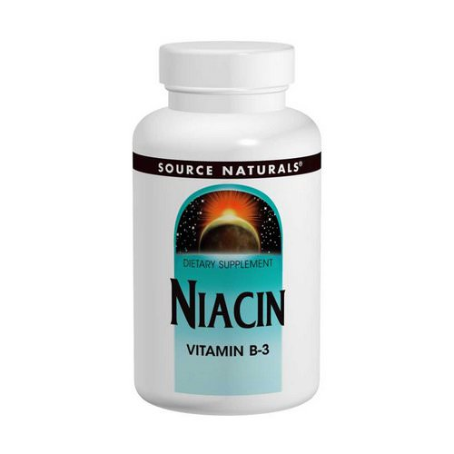 Source Naturals, Niacin, 100 mg, 250 Tablets فوائد