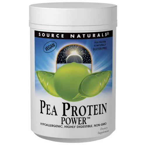 Source Naturals, Pea Protein Power, 2 lbs (907 g) فوائد