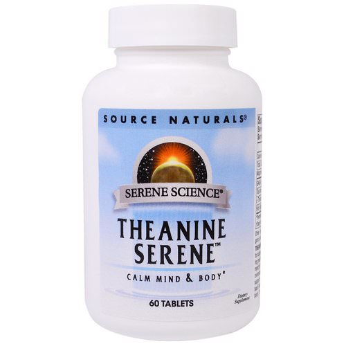 Source Naturals, Theanine Serene, 60 Tablets فوائد