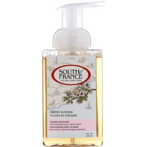 South of France, Foaming Hand Wash, Cherry Blossom, 8 fl oz (236 ml) فوائد