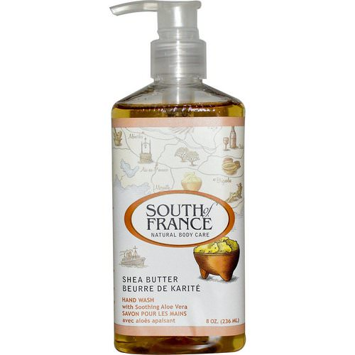 South of France, Shea Butter, Hand Wash with Soothing Aloe Vera, 8 oz (236 ml) فوائد