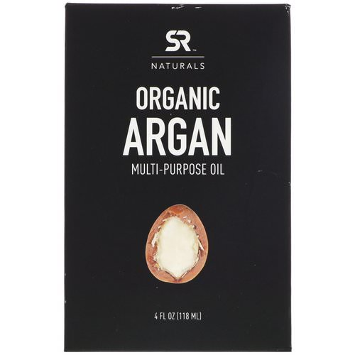 Sports Research, Organic Argan Mutli-Purpose Oil, 4 fl oz (118 ml) فوائد
